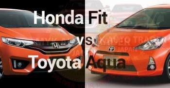 Head To Head: Honda Fit Versus Toyota Aqua – Exterior And Interior