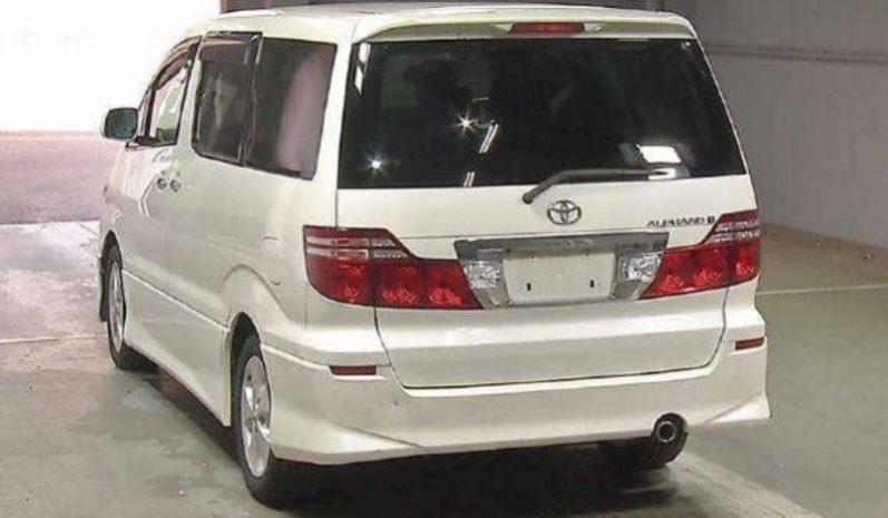 Toyota Alphard ANT800007 full