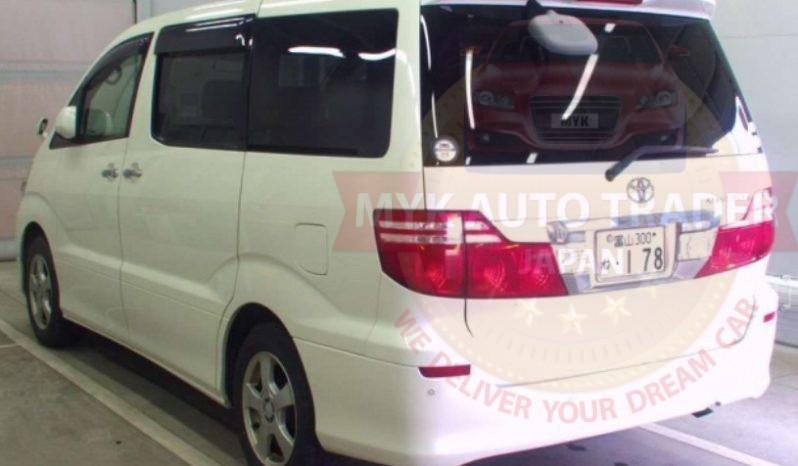 Toyota Alphard TAZ20022 full