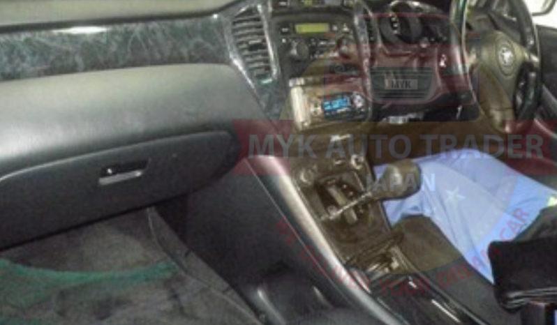 Toyota Kluger TAZ20025 full