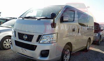 Nissan Caravan 2013 Silver full